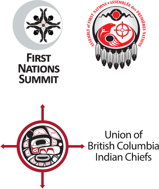 First Nations Summit, Assembly of First Nations and Union of British Columbian Indian Chiefs logos